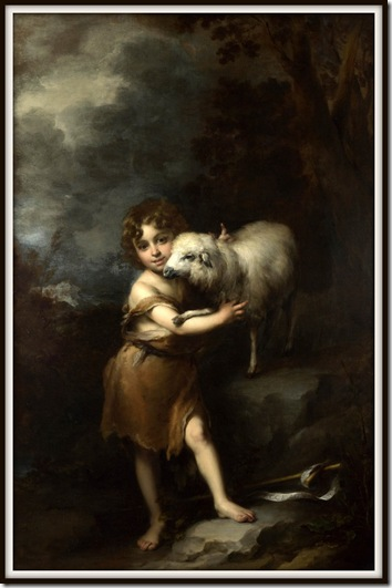 Murillo,The Infant St. John with the Lamb